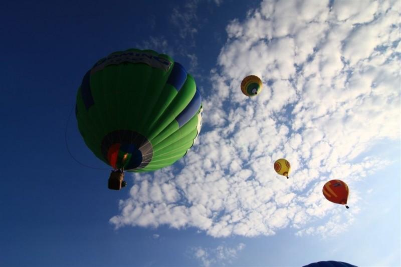Polet z balonom čez največje slovenske bisere