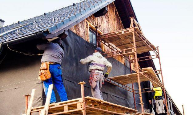 Izdelava fasade za nižje stroške ogrevanja